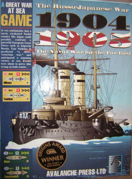 Great War at Sea: 1904-1905, The Russo-Japanese War board game