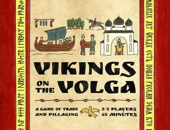Vikings on the Volga board game