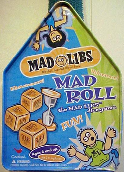 Mad Roll: the Mad Libs Dice Game board game
