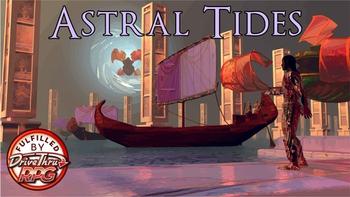 Astral Tides: A Break Kickstarter Supplement for 5E! board game