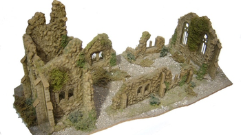 The Ruined Church - Phase One (and two thirds) board game