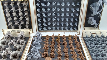 Ready To Play Storage for Miniatures board game
