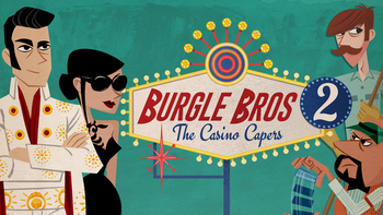 Burgle Bros 2: The Casino Capers board game