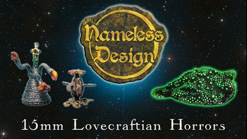 Nameless Design: 15mm Lovecraftian Horror Miniatures board game