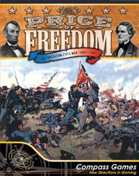 The Price of Freedom: The American Civil War 1861-1865 board game