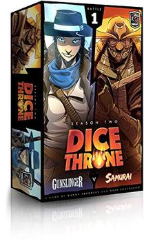 Dice Throne: Season Two - Gunslinger vs. Samurai board game