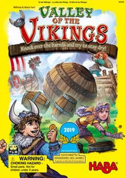 Valley of the Vikings board game