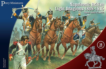 Perry Miniatures British Light Dragoons board game