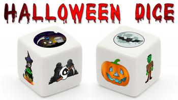 Halloween Dice board game