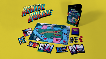 Rental Rumble board game