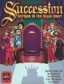 Succession: Intrigue in the Royal Court board game