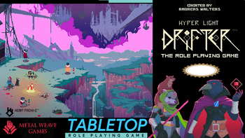 Hyper Light Drifter: Tabletop Role-Playing Game board game
