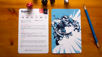 Monster Cards: DnD 5e Reference Cards board game