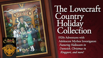The Lovecraft Country Holiday Collection board game