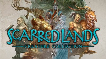 Scarred Lands Creature Collection for 5th Edition RPG board game
