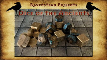 Dice of the Ancients: A Tabletop RPG Accessory board game