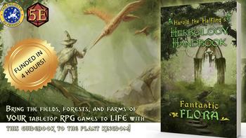 Harold the Halfling's Herbology Handbook: Fantastic Flora board game