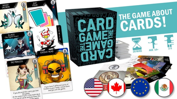 Card Game: The Card Game. A game about cards! board game