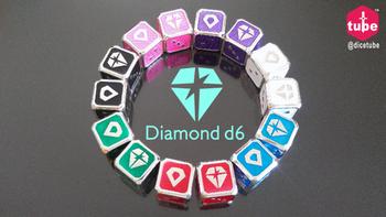 Diamond d6 board game