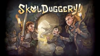 Skulduggery! board game