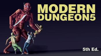 MODERN DUNGEON5 board game