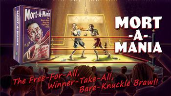 Mort-A-Mania board game