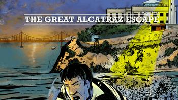 The Great Alcatraz Escape - Board Game board game