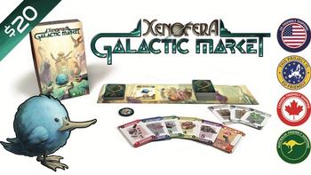 Xenofera: Galactic Market board game