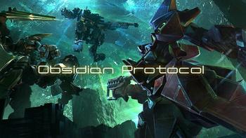 Obsidian Protocol: Mecha Miniature Wargame board game