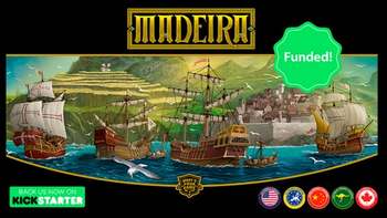 Madeira Collector's Edition + Expansion board game