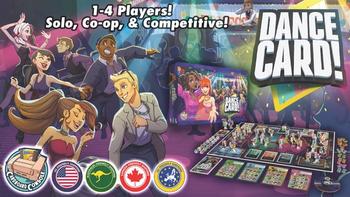 Dance Card! board game