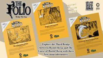 Retro RPGA Inspired 1E&5E Mini-Adventure Set board game