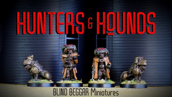 Hunters and Hounds! board game