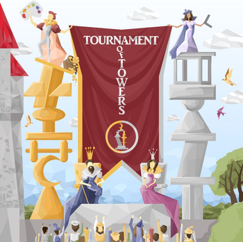 Tournament of Towers board game