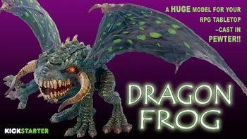 Dragon Frog board game