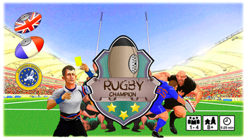 Rugby Champion board game