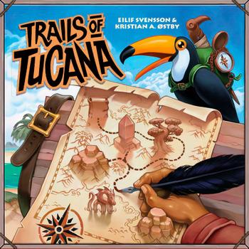 Trails of Tucana board game