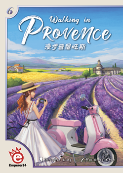 Walking in Provence board game