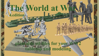 The World at War Figures, Buildings, Accessories printable board game