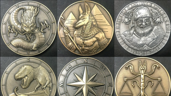 Dice Coins Fall Release and new God & Goddess Coins board game