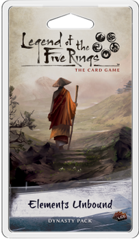 Legend of the Five Rings: The Card Game - Elements Unbound Dynasty Pack board game