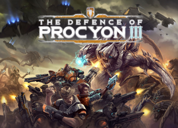 The Defence of Procyon III board game