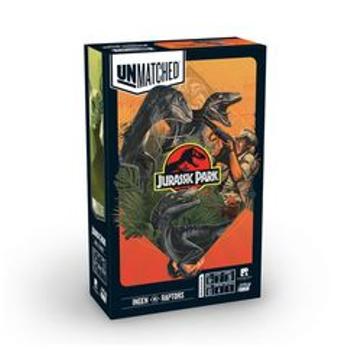 Unmatched: Jurassic Park - Ingen vs. Raptors board game