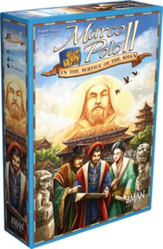 Marco Polo II: In the Service of the Khan board game