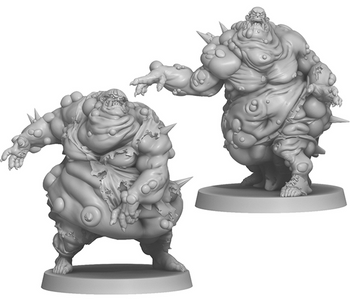 Zombicide: Green Horde – Fatty Bursters board game