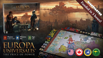 Europa Universalis: The Price of Power board game
