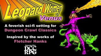 Leopard Women of Venus board game