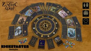 Zodiac War board game