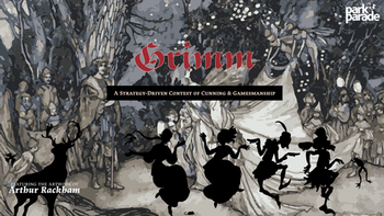 Grimm: a card-based, strategic tabletop game board game