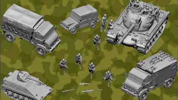 Cold War German Bundeswehr board game